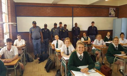 Hoërskool Nylstroom taking care of our learners!