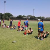 Limpopo Blou Bulle-oefenkamp by Hoërskool Nylstroom