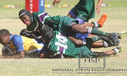 Rugby kragte gemeet – foto's